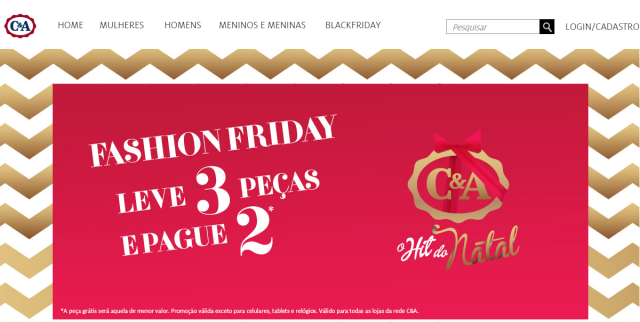 Black Friday na C&A
