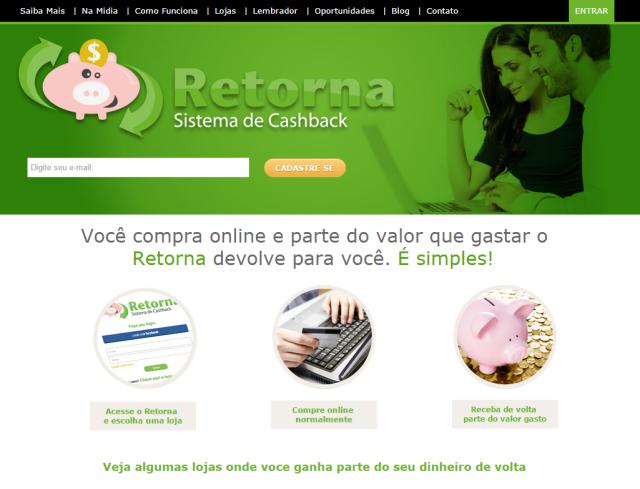 Home page Retorna