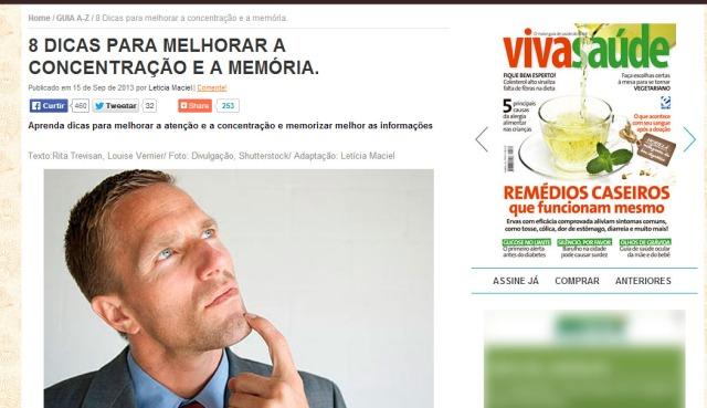 Viva Saúde dá 8 dicas pra melhorar concentração e memória