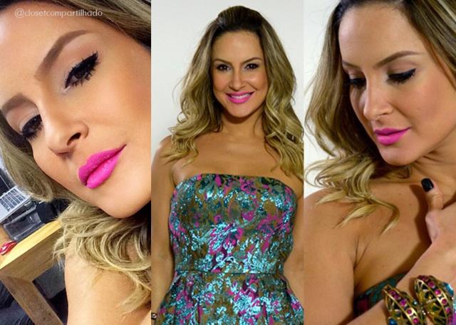 Claudia Leitte no The Voice Brasil - Reprodução EGO/TV Globo