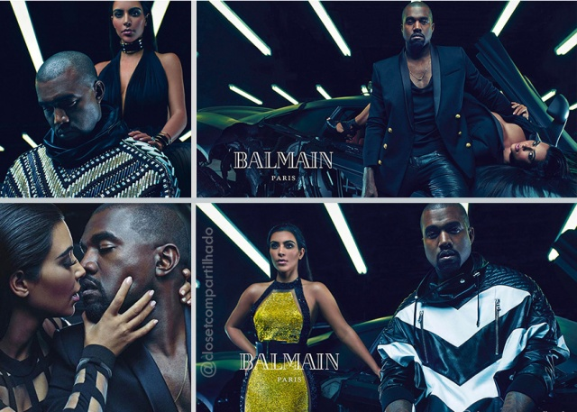 Closet Compartilhado - Kim Kardashian e Kanye West para Balmain