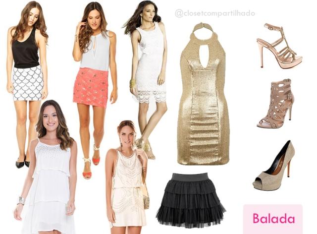 Closet Compartilhado - Looks para o Réveillon - Balada
