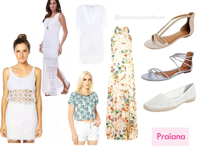 Closet Compartilhado - Looks para o Réveillon - Praiana