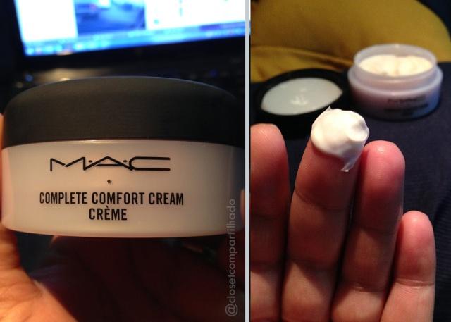 Closet Compartilhado - M.A.C. Complete Comfort Creme