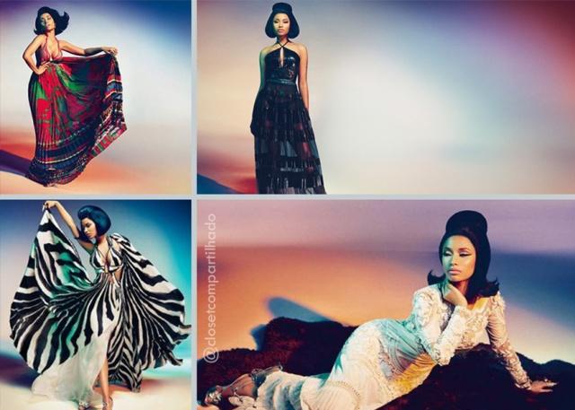 Closet Compartilhado - Nicki Minaj para Roberto Cavalli