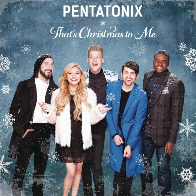 Closet Compartilhado - Capa do EP That's Christmas To Me, do Pentatonix