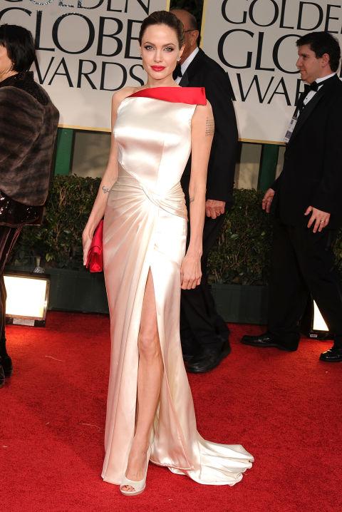 """Angelina Jolie no """"Globo de Ouro"""""""