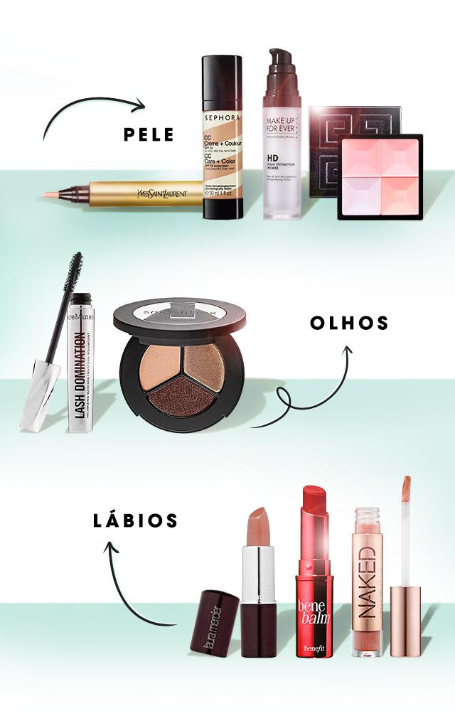 Closet Compartilhado - Meu Beauty Studio, da Sephora, dá as dicas pra maquiagem leve