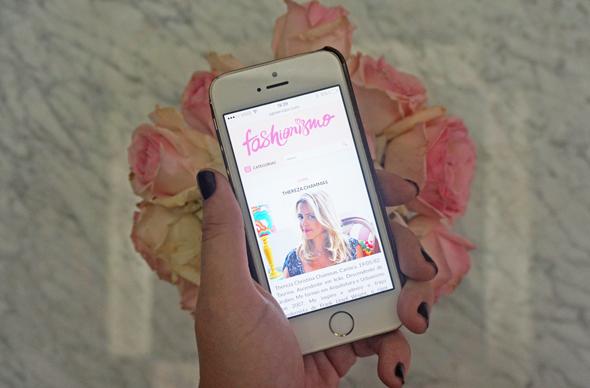 Novo layout do blog Fashionismo