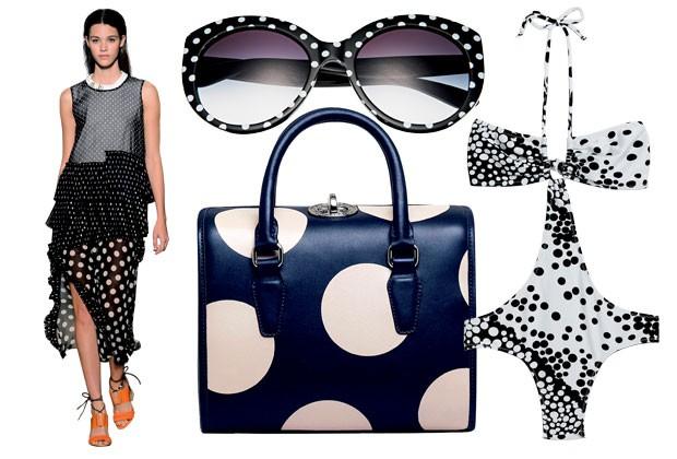 Closet Compartilhado - Marie Claire mostra poá irreverente como nova tendência de verão