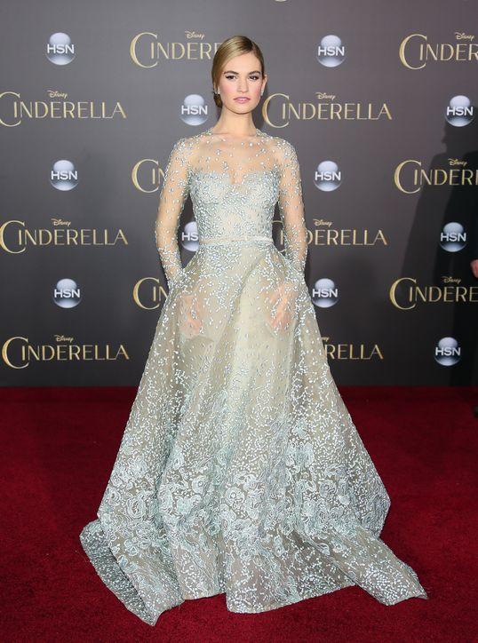"""Lily James: """"Cinderella"""" na vida real"""